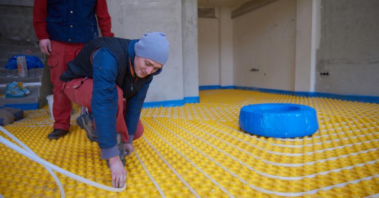 Gründe für eine Fußbodenheizung